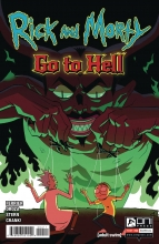 Rick and Morty Go to Hell  #4 Cover A