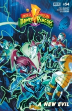 Mighty Morphin Power Rangers  #54 Cover A