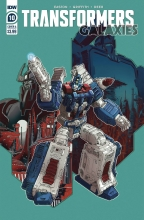 Transformers Galaxies  #10 Cover A