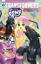My Little Pony - Transformers (4P Ms)  #3 Cover A