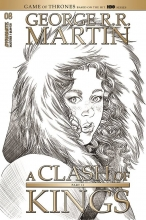 George RR Martins: Clash of Kings  #8 Cover A