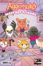 Aggretsuko Meet Her Friends  #1 Cover A