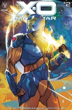 X-O Manowar (Vol. 3)  #2 Cover A