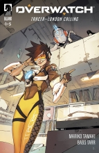 Overwatch: Tracer - London Calling (5P Ms)  #1 Cover A