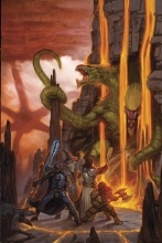 Stranger Things and Dungeons and Dragons (4P Ms)  #2 Cover A