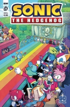 Sonic the Hedgehog  #35 Cover A