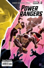 Power Rangers  #2 Cover A