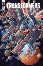 Transformers Galaxies  #12 Cover A