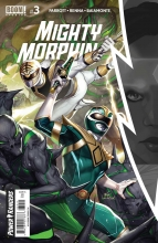 Mighty Morphin  #3 Cover A