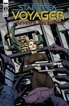 Star Trek: Voyager - Sevens Reckoning (4P Ms)  #3 Cover A