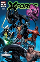 X-Force (Vol. 6)  #16 Marvel vs Alien Variant