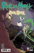 Rick and Morty - Ever After  #4 Cover A