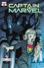 Captain Marvel (Vol. 11)  #25 Marvel vs Alien Variant