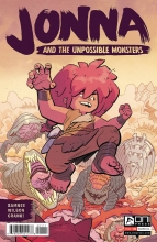 Jonna and the Unpossible Monsters  #1 Cover A