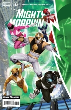 Mighty Morphin  #6 Cover A