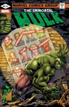 Immortal Hulk  #46 Homage Variant