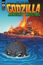 Godzilla: Monsters and Protectors (5P Ms)  #2 Cover A