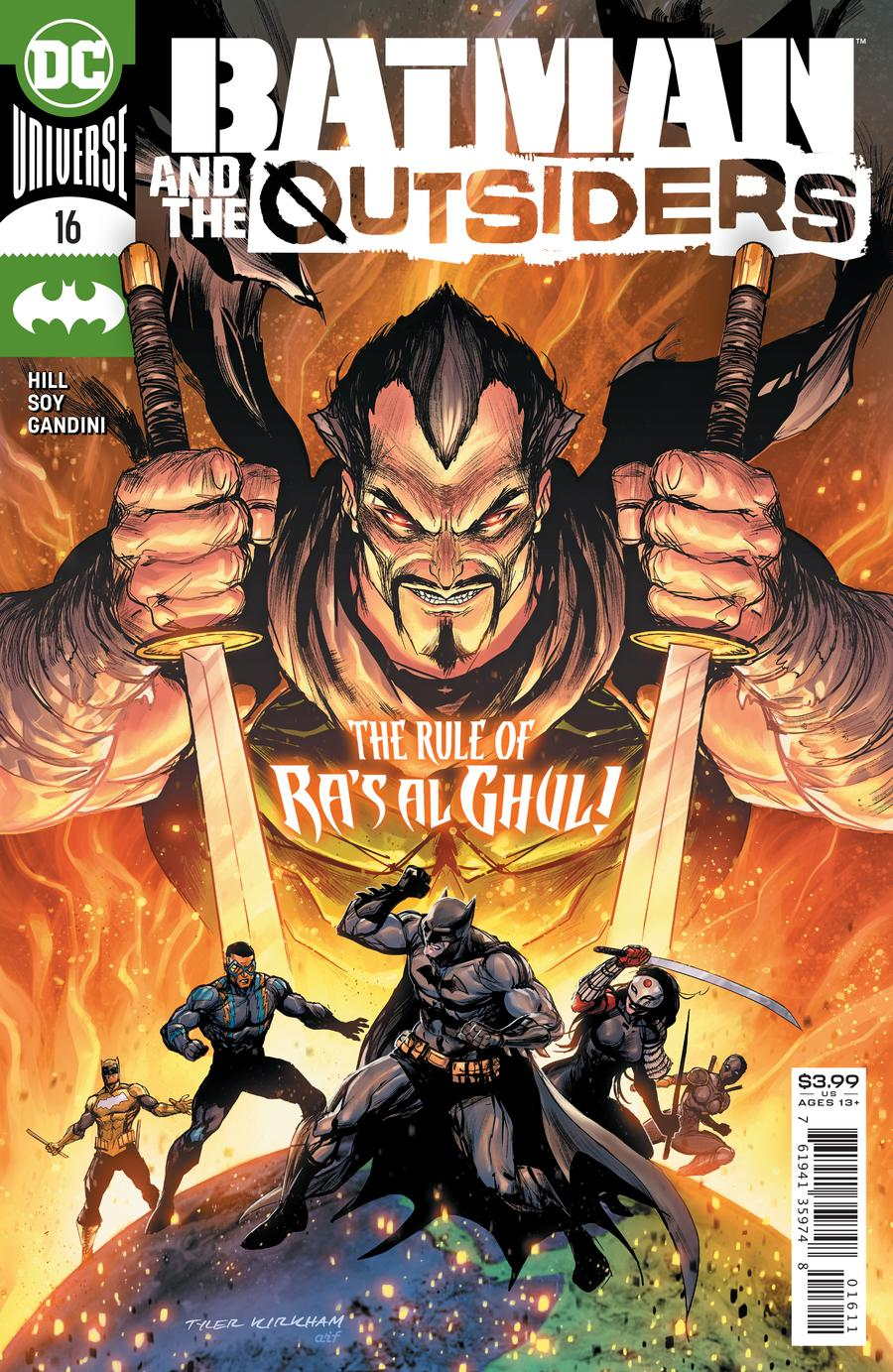 Batman and the Outsiders (Vol. 2)  #16