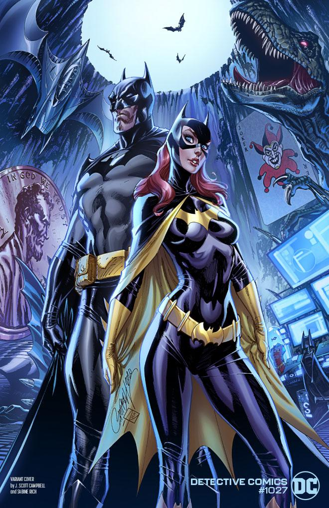 Detective Comics (Vol. 3)  #1027 Cover C - J Scott Campbell Batman Batgirl