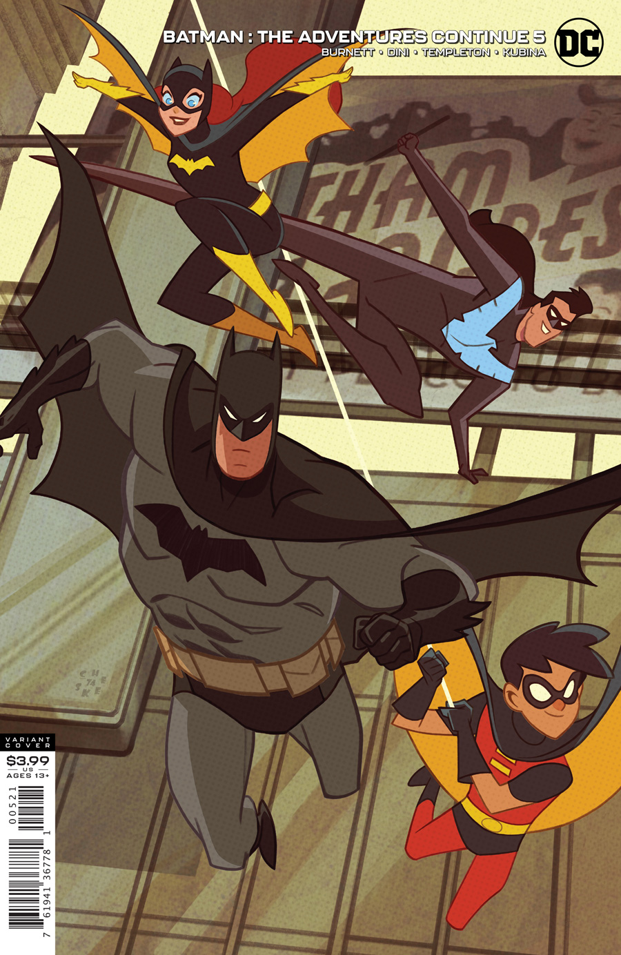Batman: Adventures Continue (6P Ms)  #5 Variant