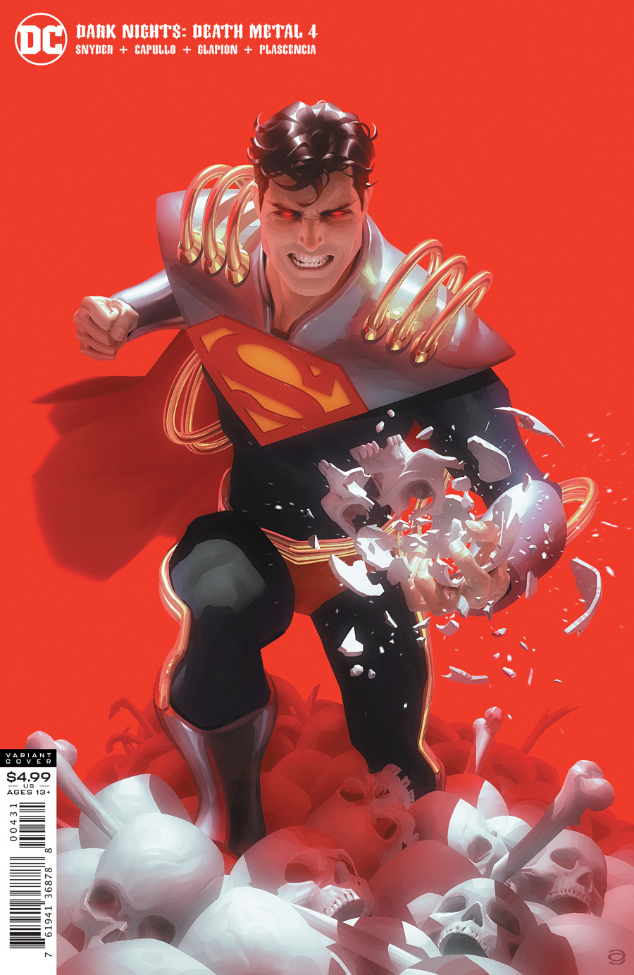 Dark Nights: Death Metal  #4 Superboy-Prime Variant