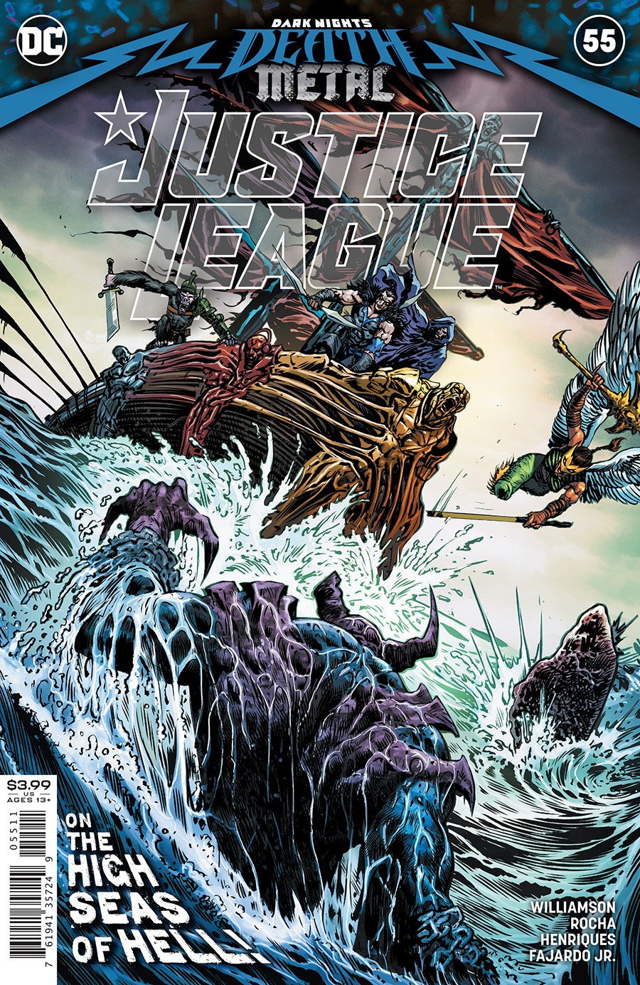 Justice League (Vol. 3)  #55