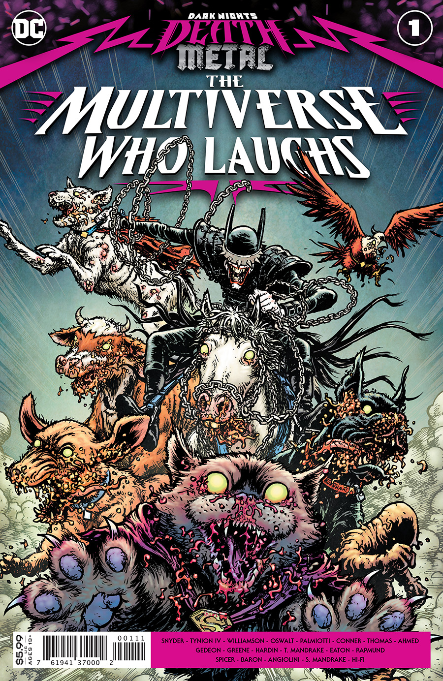 Dark Nights: Death Metal - Multiverse Who Laughs  #1 One Shot