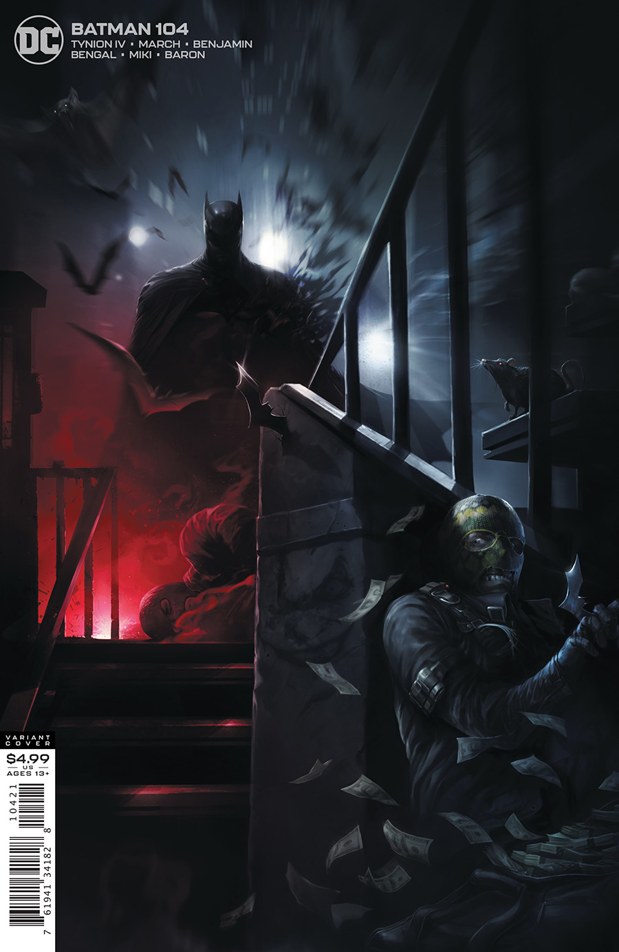 Batman (Vol. 3)  #104 Card Stock Variant