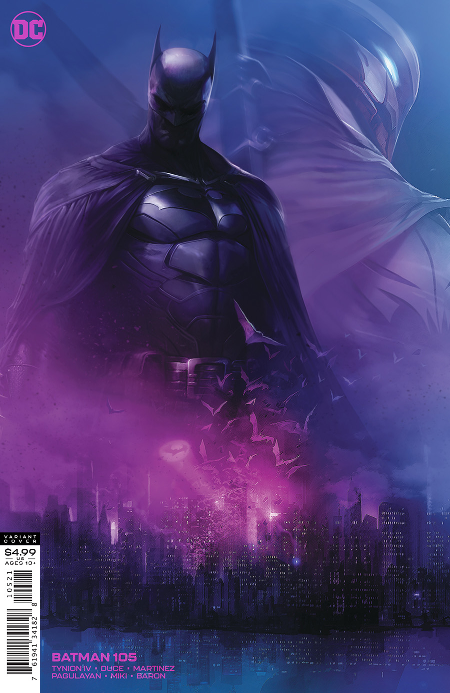 Batman (Vol. 3)  #105 Card Stock Variant
