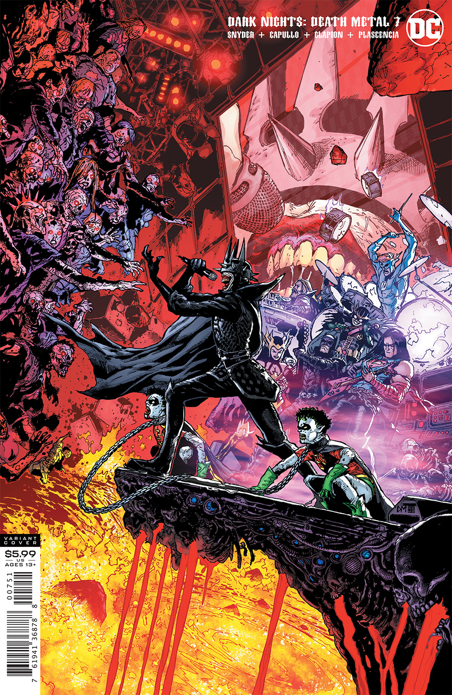 Dark Nights: Death Metal  #7 1:25 Variant