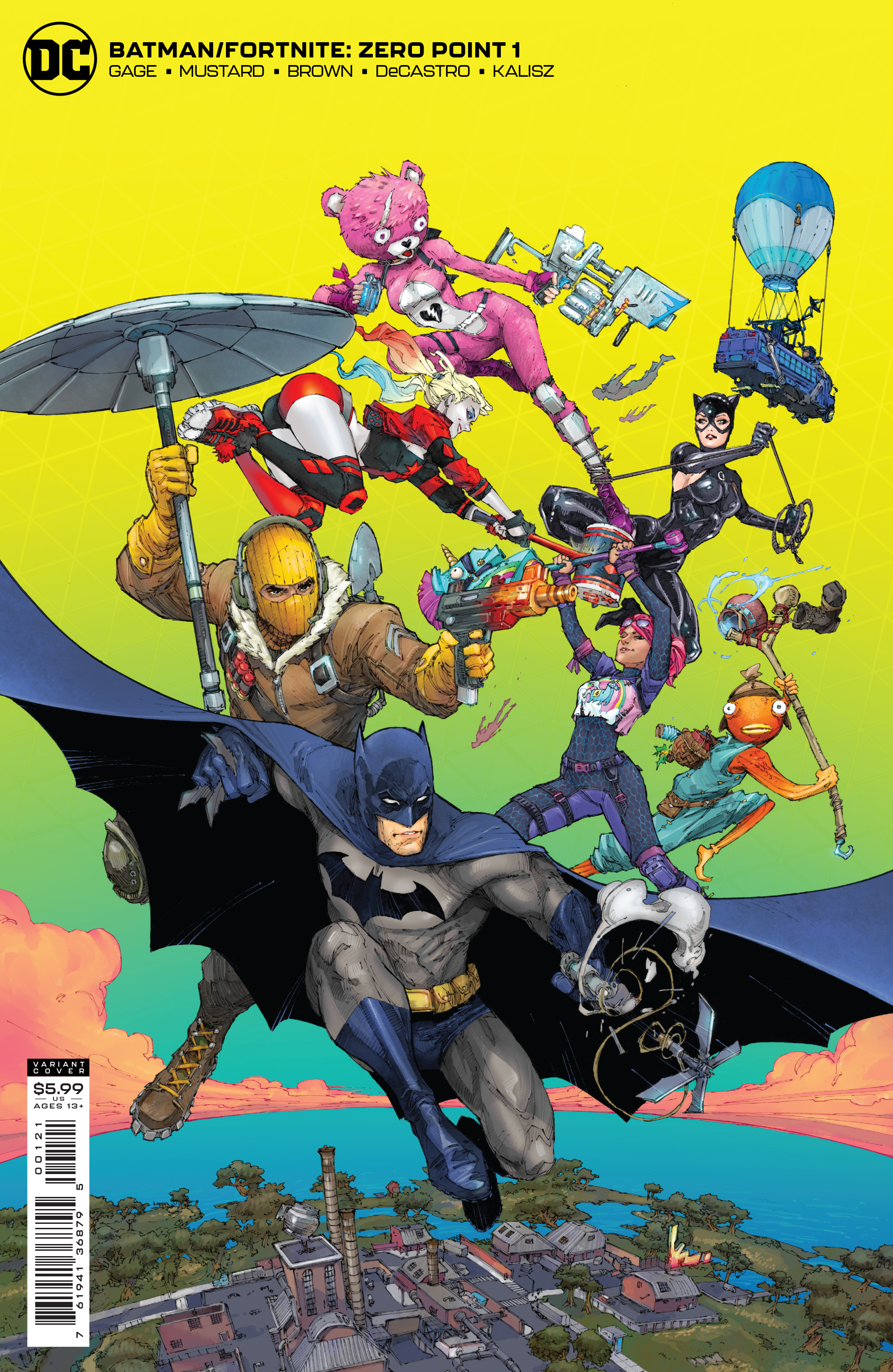 Batman - Fortnite: Zero Point  #1 Cover B - Card Stock Variant