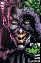Batman: Three Jokers (3P Ms)  #3 Joker Cover