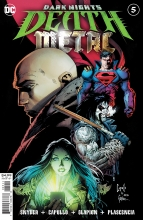 Dark Nights: Death Metal  #5 Foil Cover