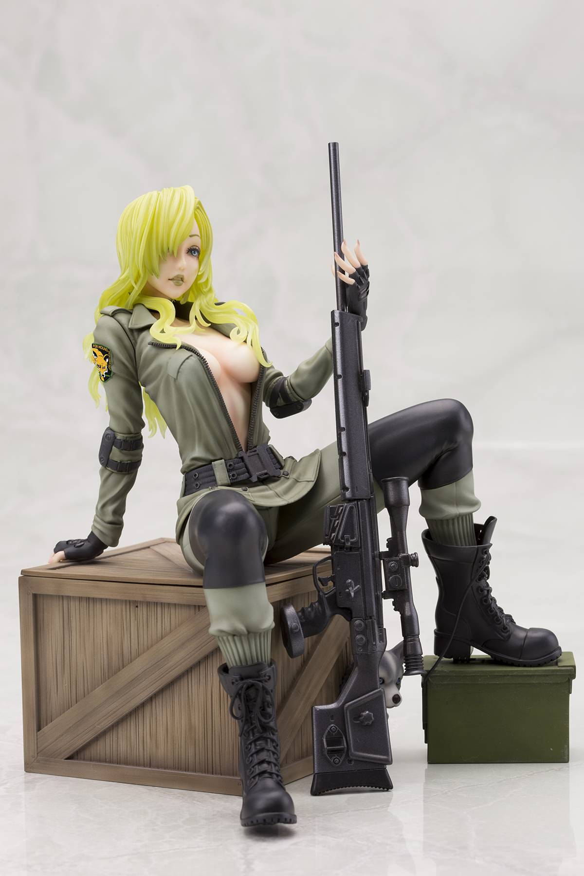 Metal Gear Solid  Series Sniper Wolf Statue