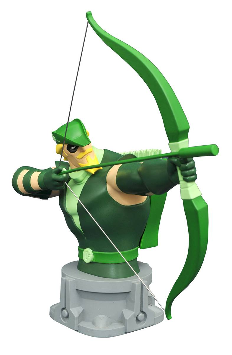 Justice League Animated  Series Green Arrow  Bust