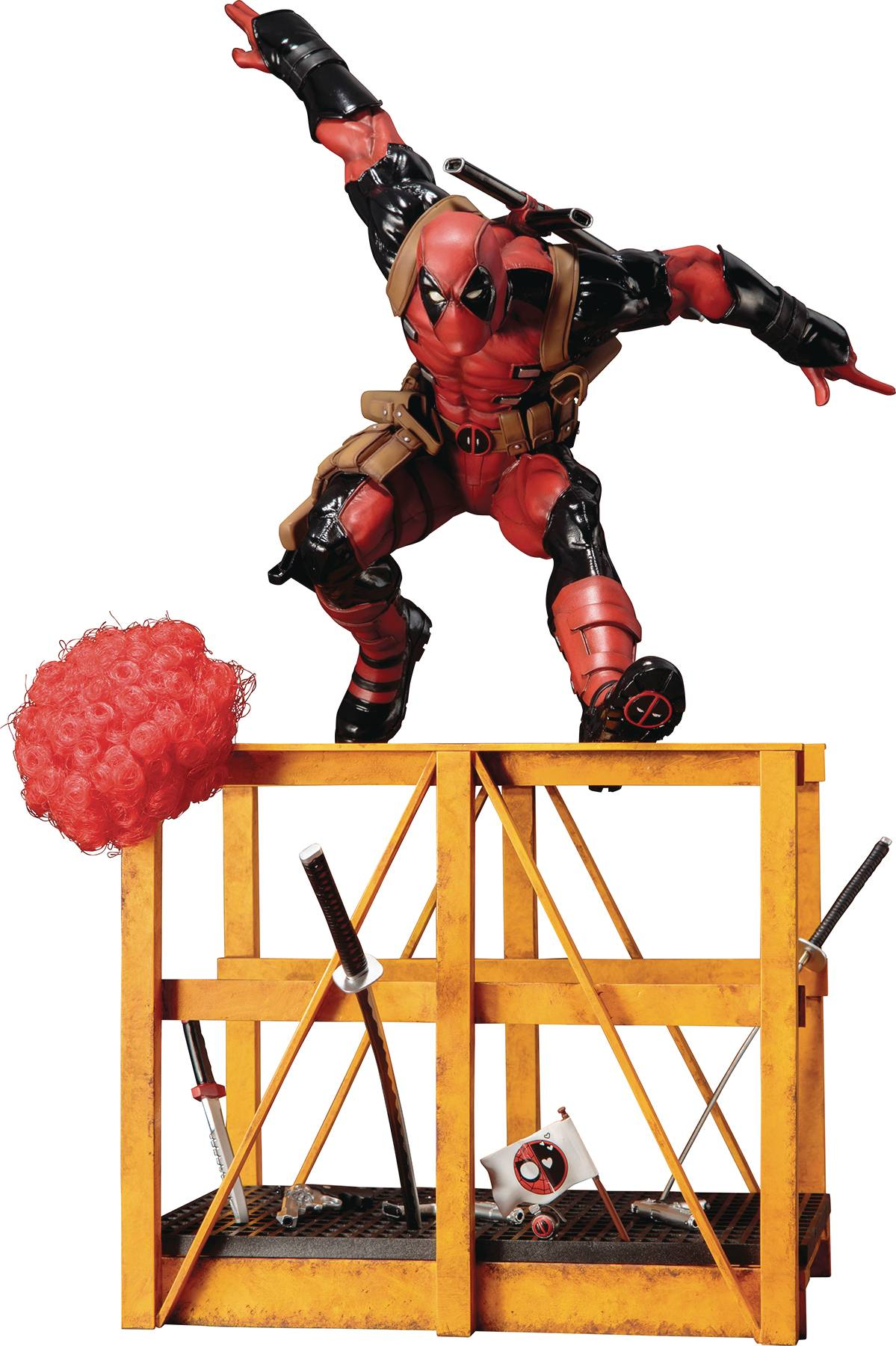 Marvel  Series Super Deadpool Statue