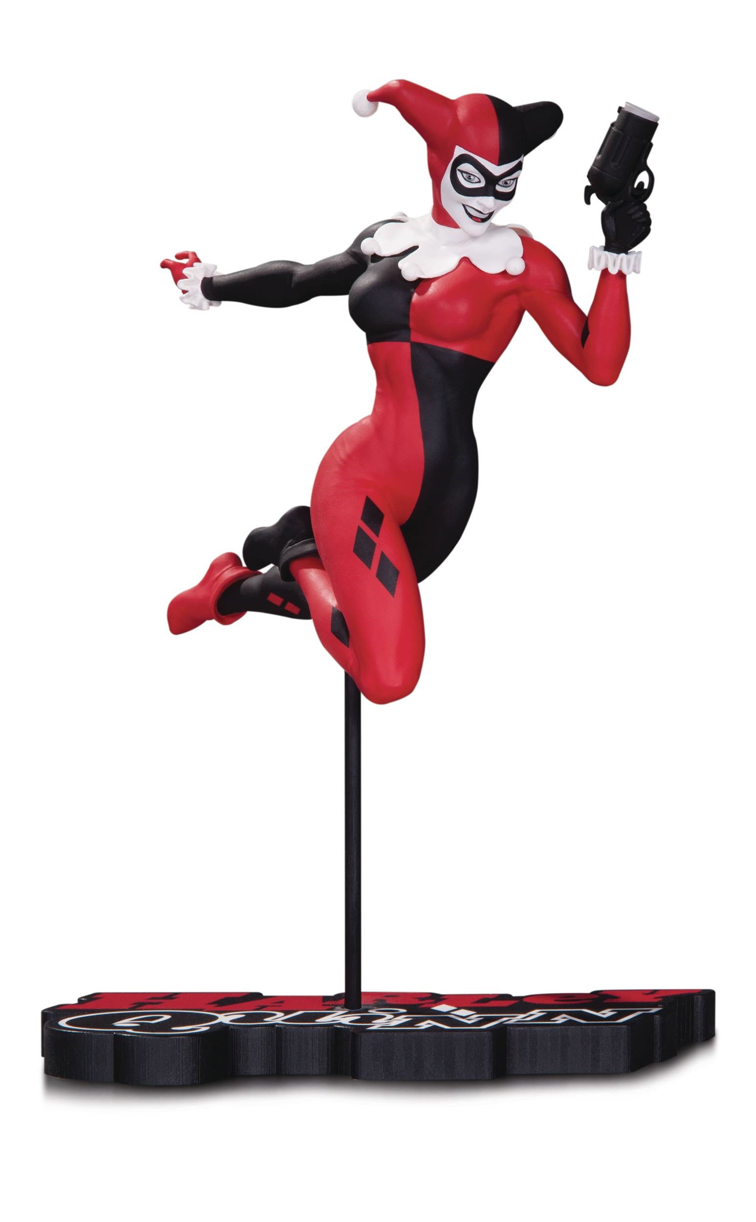 Harley Quinn  Series Red White Black - Terry Dodson Statue