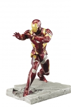 Captain America - Civil War  Series Iron Man - MK 46 Statue