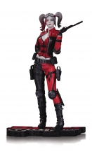 Harley Quinn  Series Red White Black - Injustice 2 Statue
