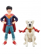 DC Universe  Series Supersons - Jonathan Kent and Krypto Statue