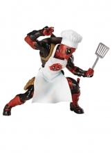 Deadpool  Series Cooking Deadpool Statue