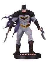 DC Comics - Designer - Capullo  Series Batman - Metal Statue