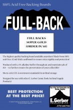 Full-Back Gold  - SUPPLY588 Boards