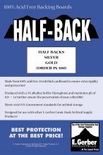 Half-Backs Gold  - SUPPLY593 Boards