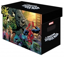 Graphic Comic Boxes (Sold in 5)  - Amazing Spider-Man Boxes