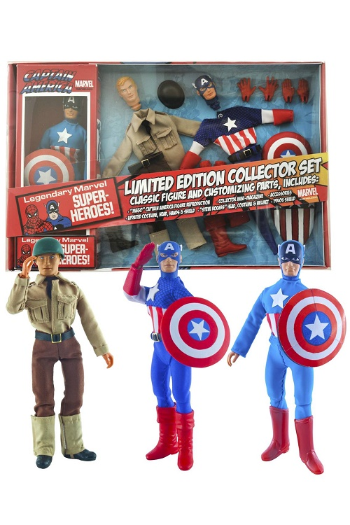 Marvel Retro  Series Captain America Action Figure