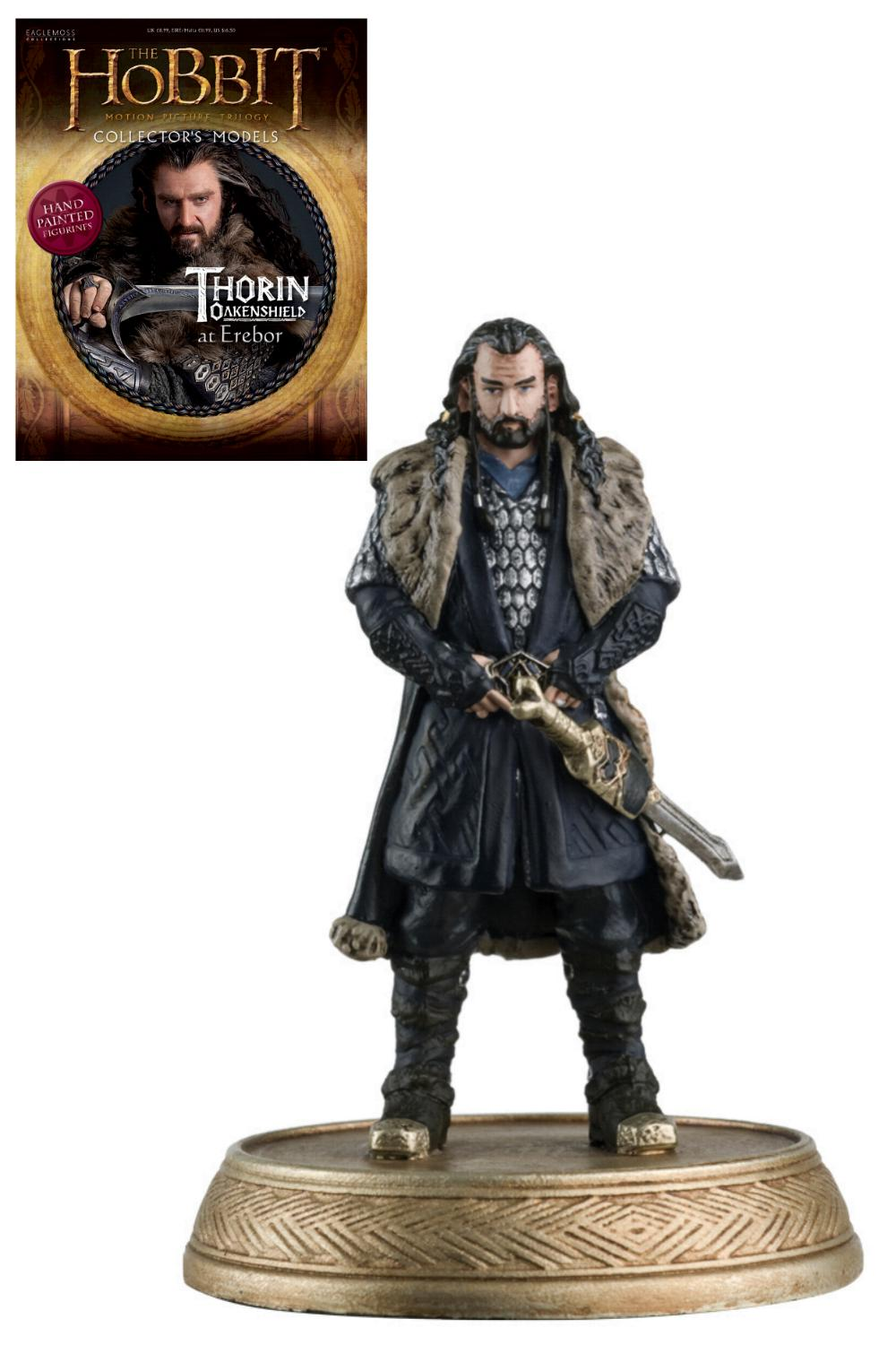 Hobbit: Motion Picture Figure - Magazine  Series 02 - Thorin Oakenshield Collectible