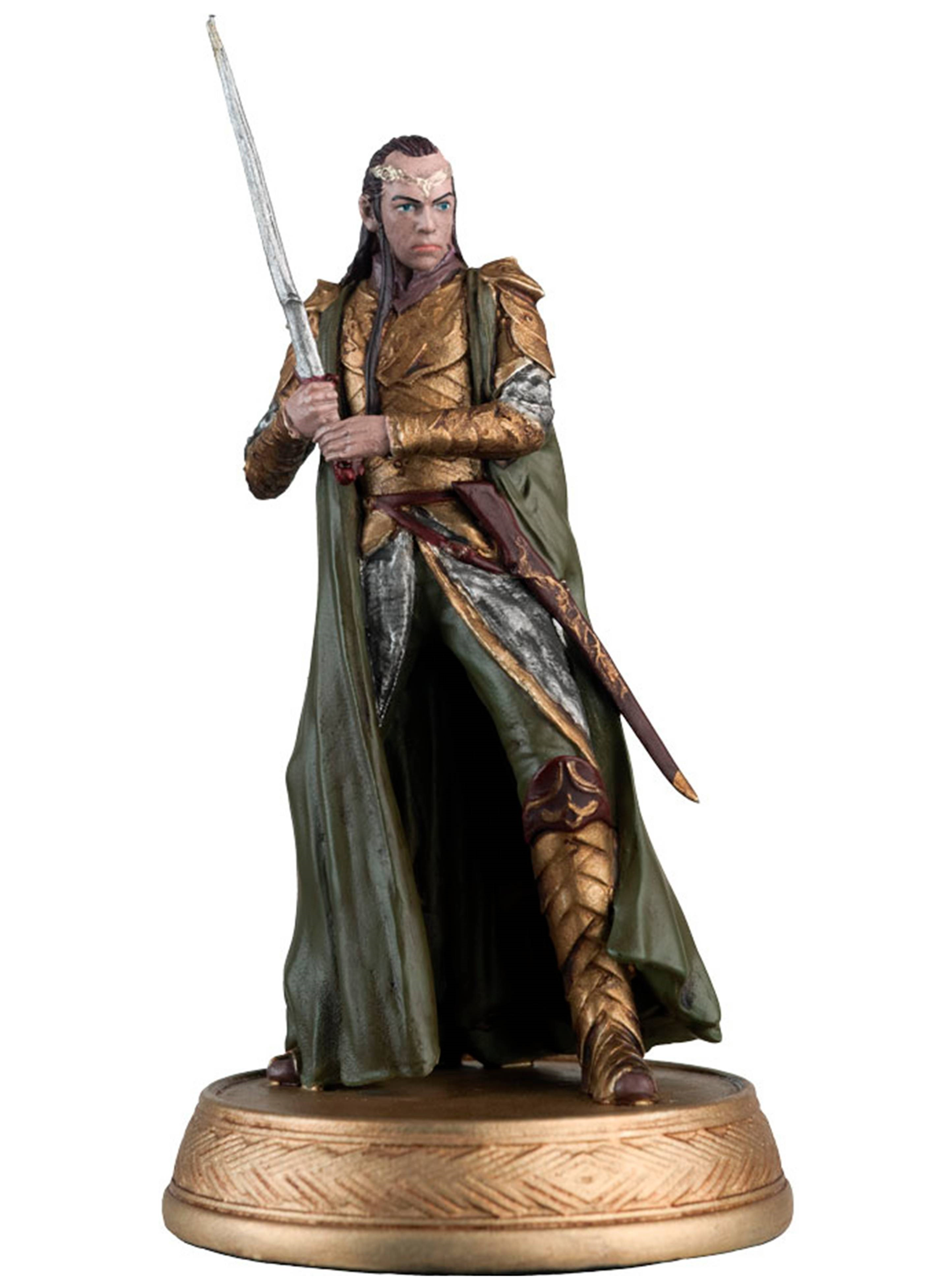 Hobbit: Motion Picture Figure - Magazine  Series 18 - Elrond Collectible