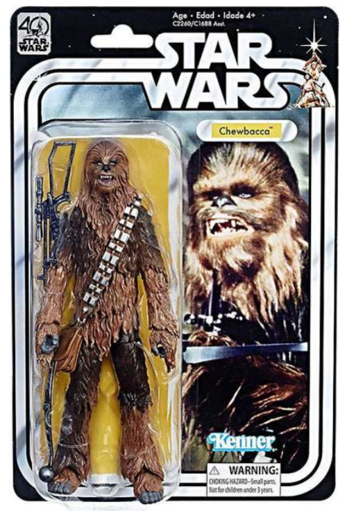 Star Wars - 40th Anniversary Edition  Series Chewbacca Action Figure