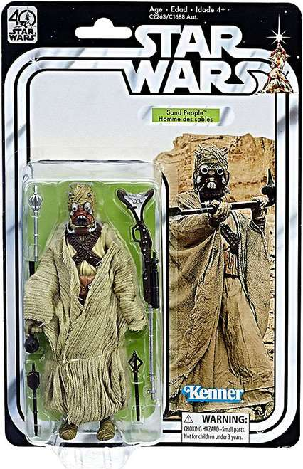 Star Wars - 40th Anniversary Edition  Series Sand People Action Figure